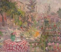 Le Mayeur - Le Jardin du Palazzo Frollo, Venice, ca. 1928