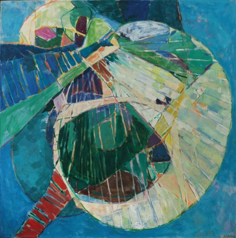 Abram Ronald - Abstract composition 1966