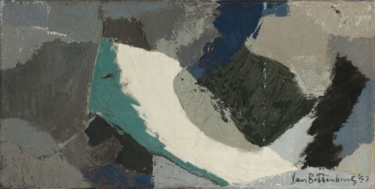 Hendrik van Bottenburg (1911 - 1985)  Abstract Composition 1957