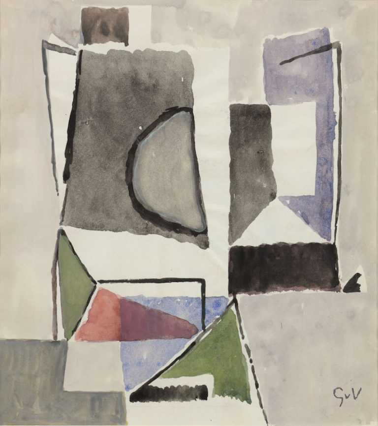 Geer van Velde - Composition ca. 1960