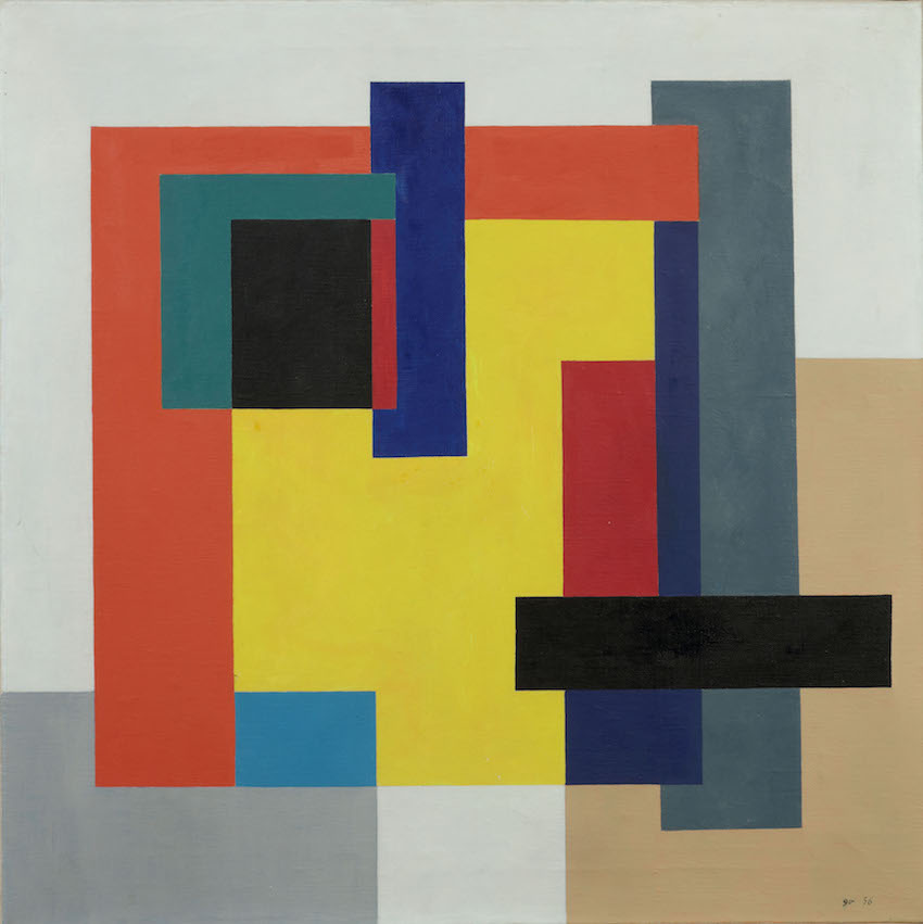 Guy Vandenbranden - Abstract Compostion 1956