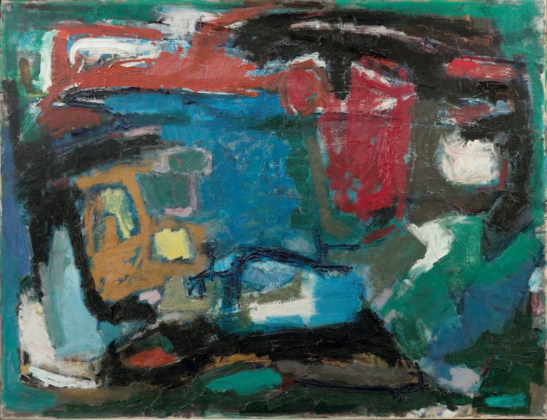 Jan Battermann (1909 - 1999)  Abstract composition, 1960